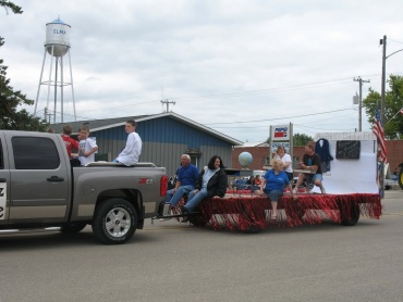I.C. Academy Class of 1969 reunion float
