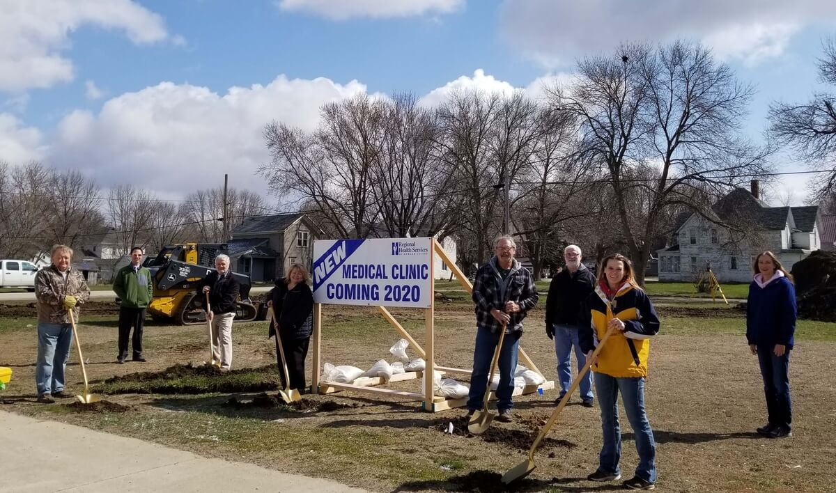 Medical Clinic Ground Breaking