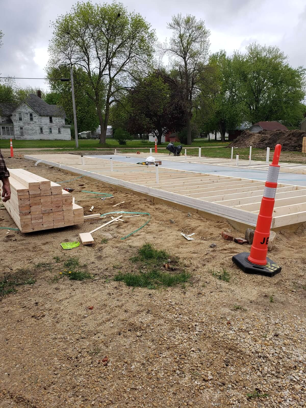 Medical Clinic floor is poured