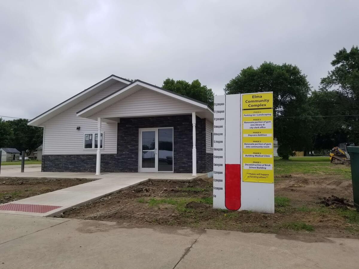 Medical Clinic exterior is done