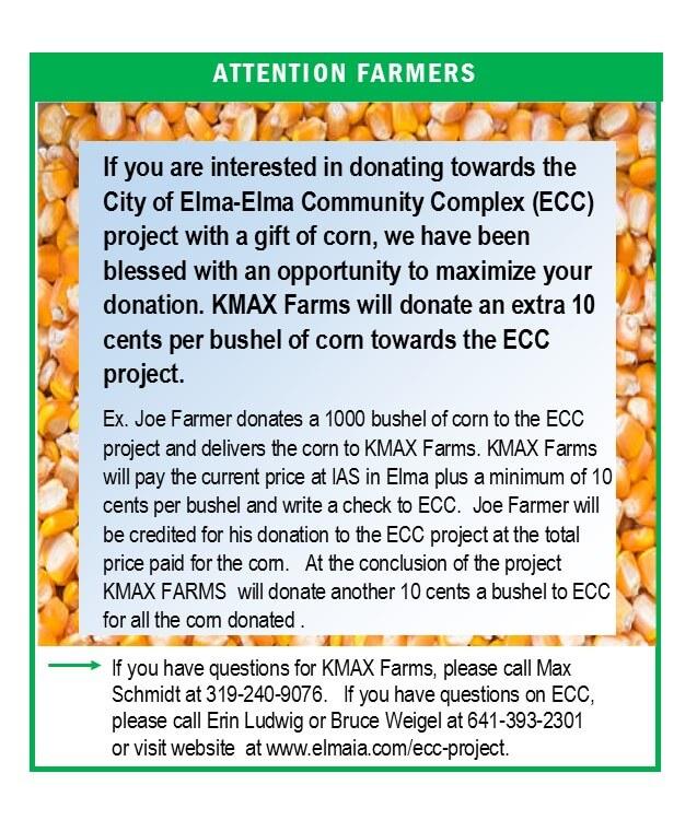 corn donation